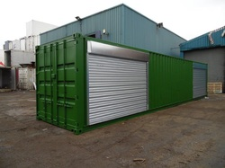 Chemical Store Roller Shutters